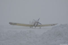 2010 - Pravá zima na letišti