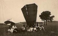 Radouč 1936 – letadlo Skaut